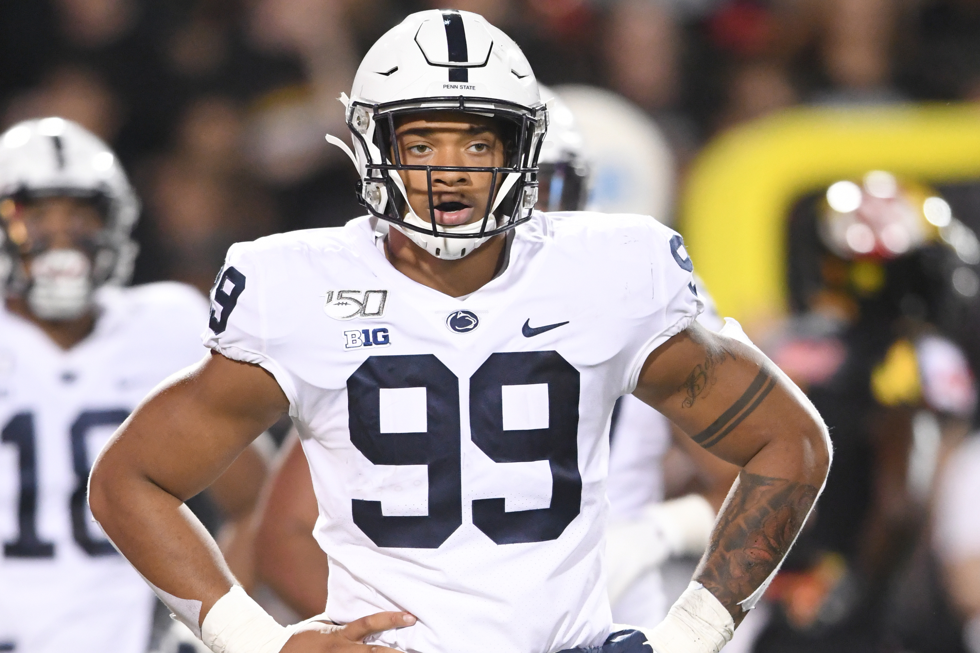 Baltimore Ravens scouting reports: Yetur Gross-Matos an athletic marvel
