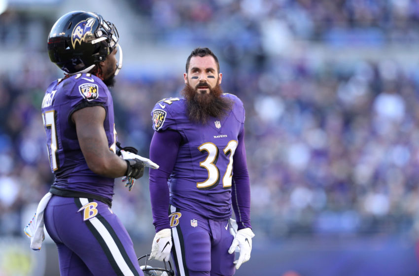 The Baltimore Ravens must make tough call with Eric Weddle