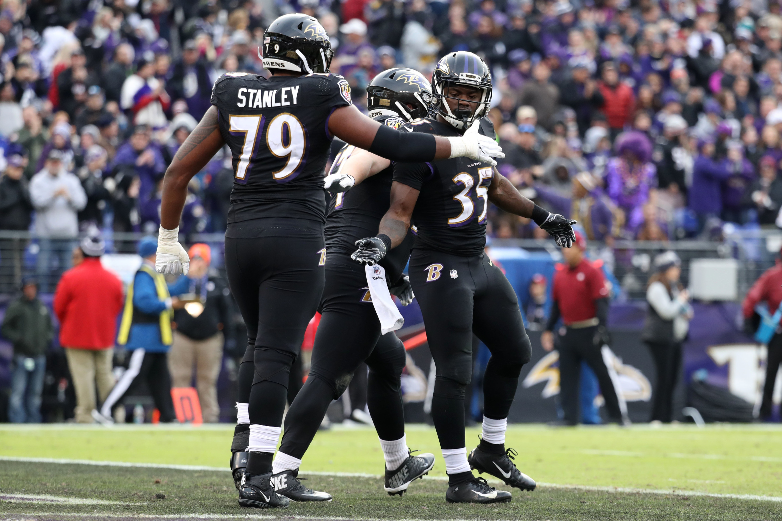 Gus Edwards is the most underrated Baltimore Ravens player