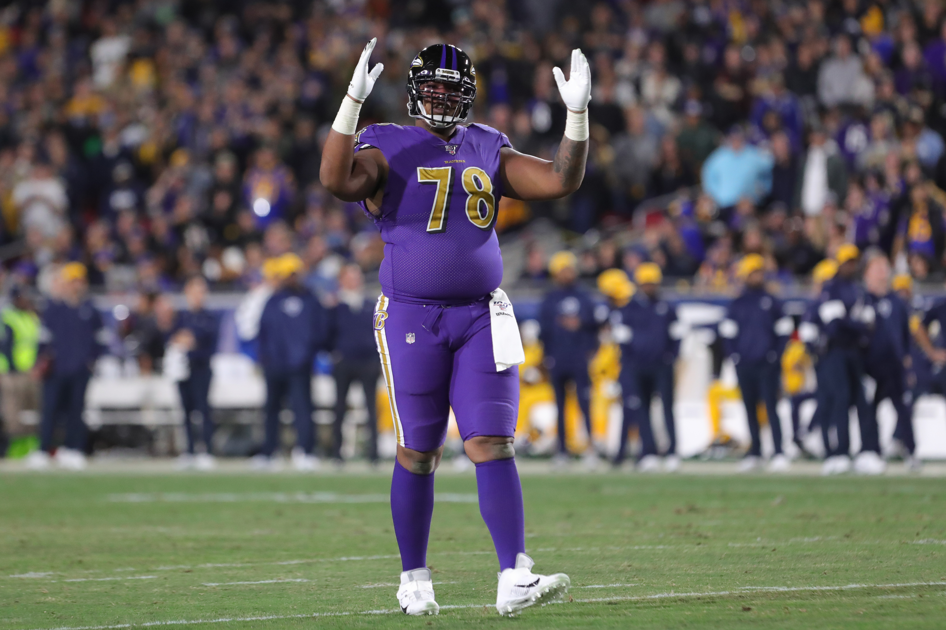 Is there any chance the Baltimore Ravens retain Orlando Brown Jr.?