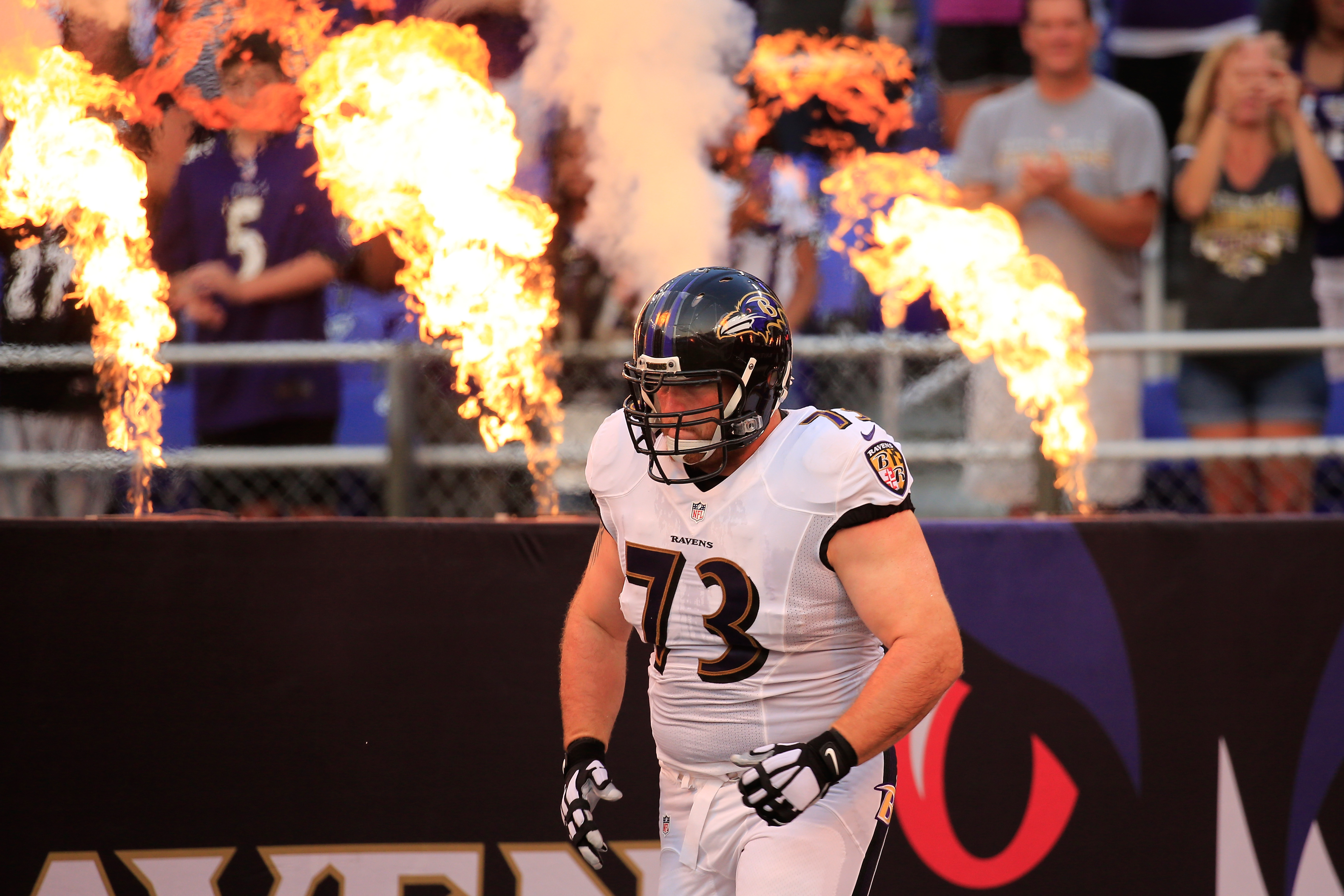 Marshal Yanda injured Ravens need to make a move for offensive line