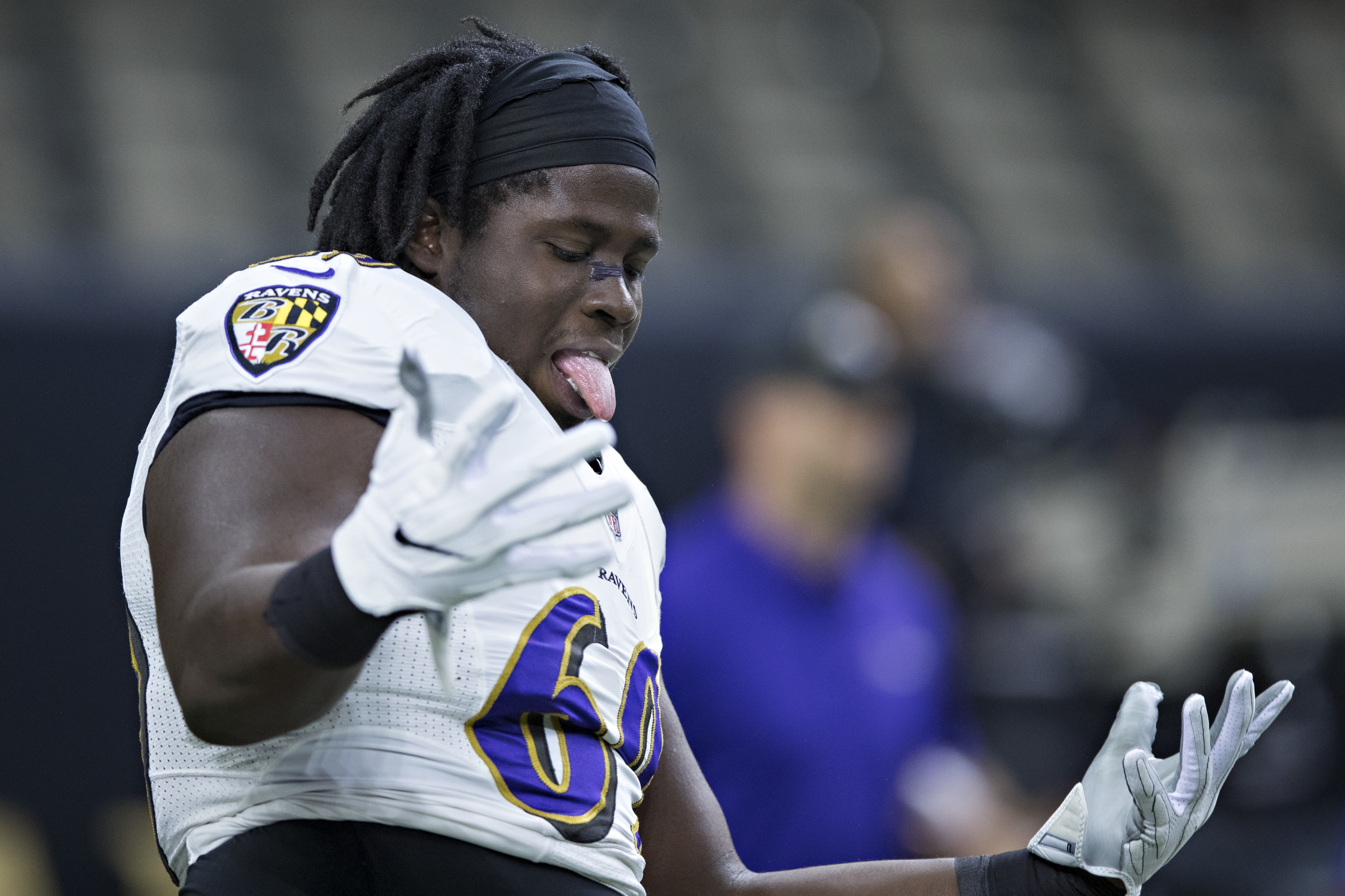 Willie Henry is first surprise cut for Baltimore Ravens