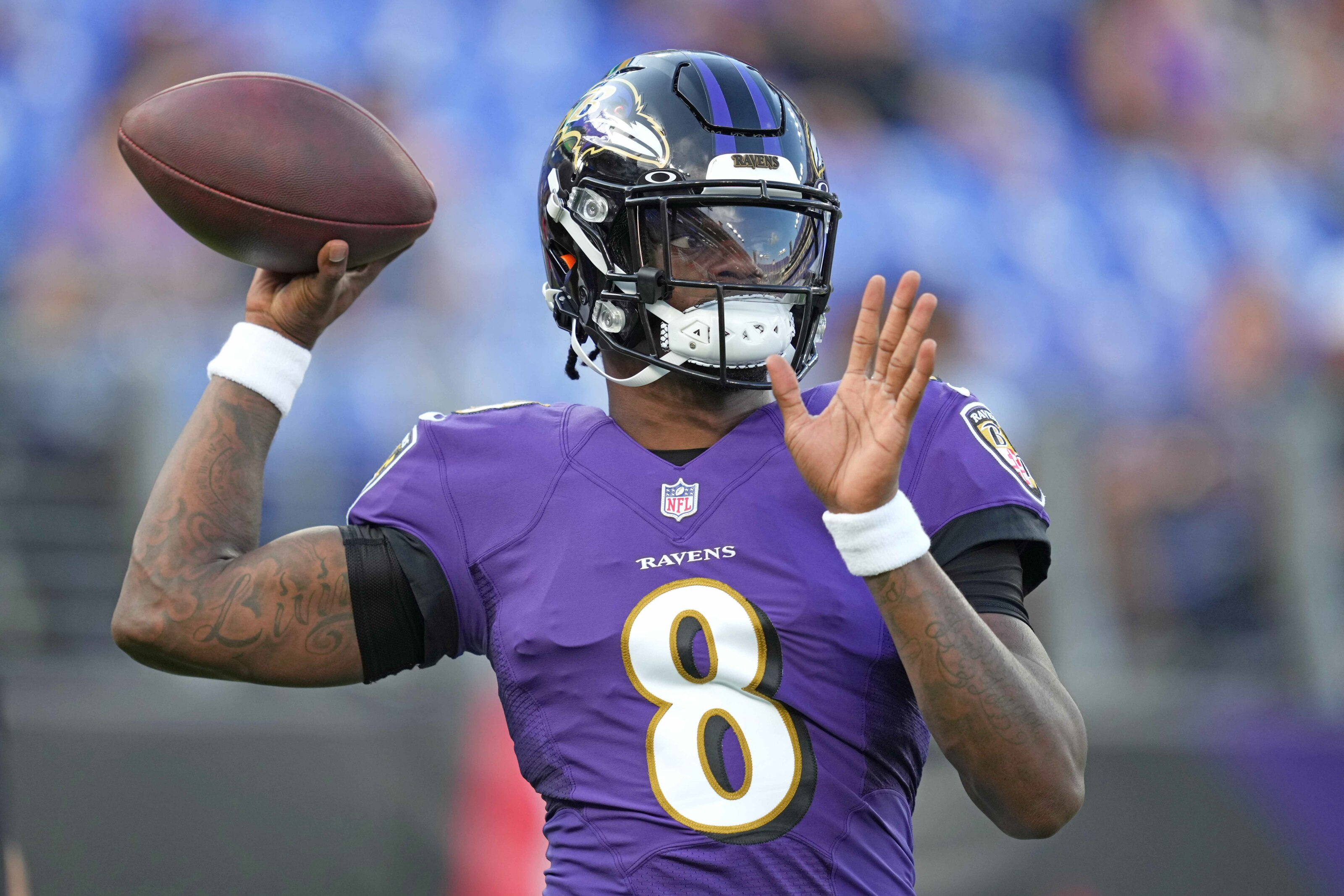 Ravens: There's no reason for Lamar Jackson to play this Saturday
