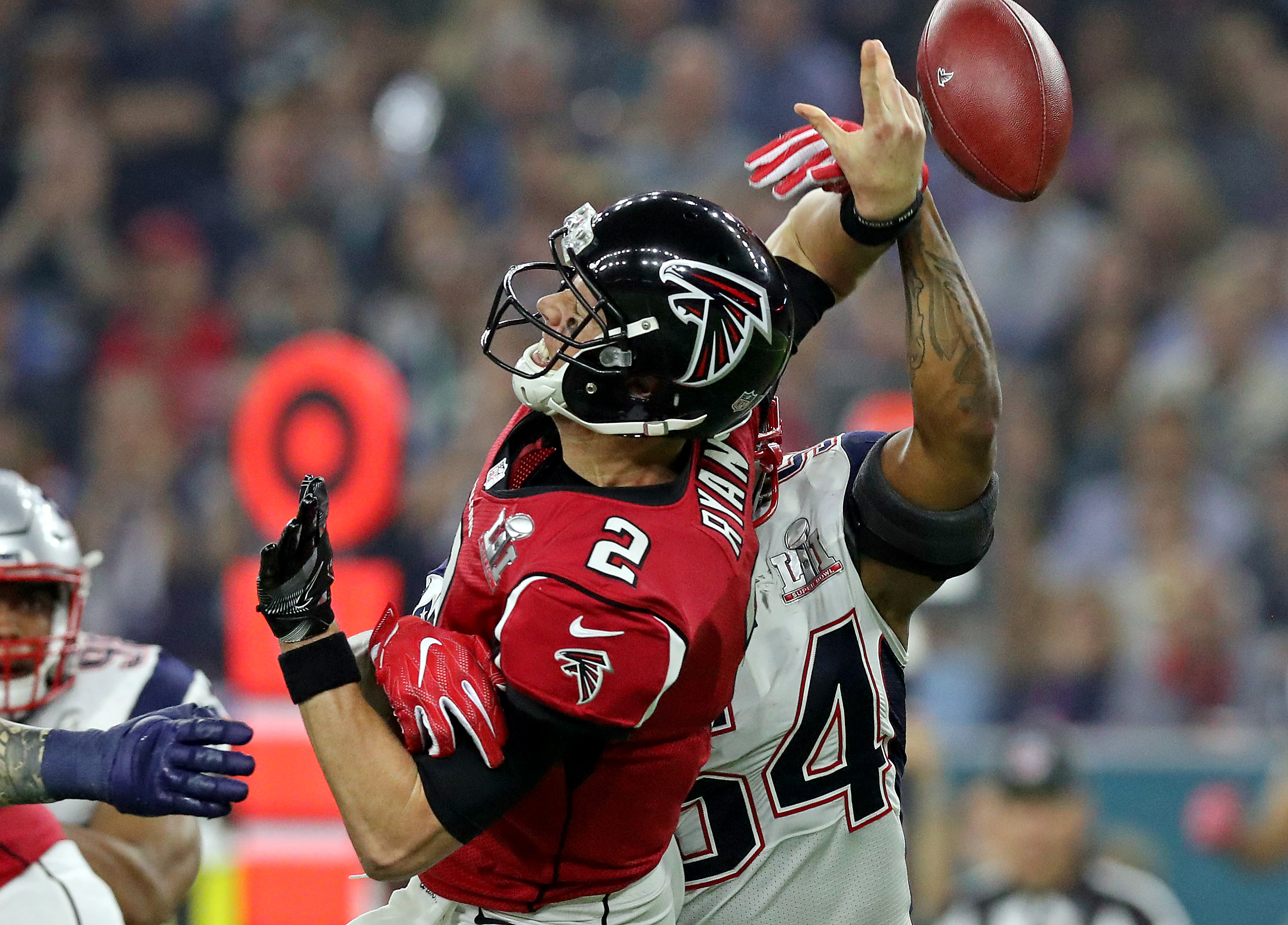 Patriots force fumble on Falcons - Super Bowl 51